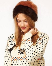 ASOS Colour Block Bobble Hat