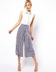 ASOS Culottes In Geo Print