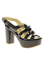 See By Chloe Patent Platform Sandal