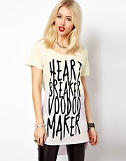 Voodoo Girl Heart Breaker T-Shirt