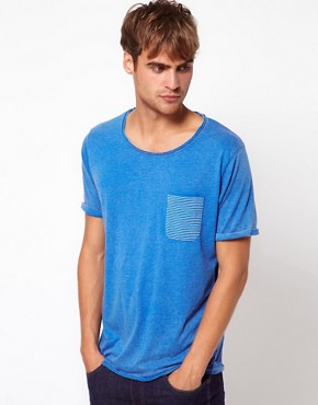 Image 1 ofSelected T-Shirt with Pocket