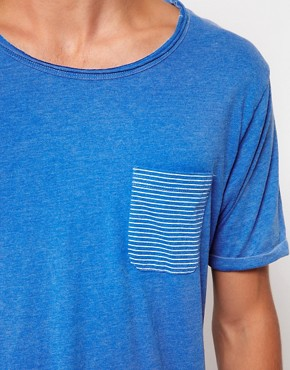 Image 3 ofSelected T-Shirt with Pocket