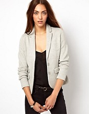 Whistles Lena Double Faced Jersey Jacket