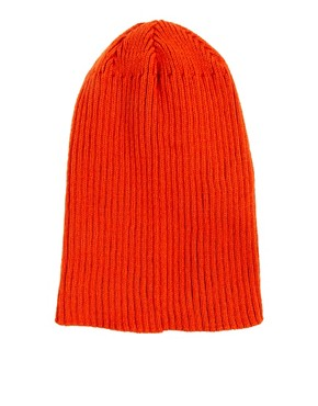 Image 2 ofASOS Rib Boyfriend Knit Beanie