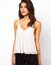 ASOS Cami with Embellished Dome