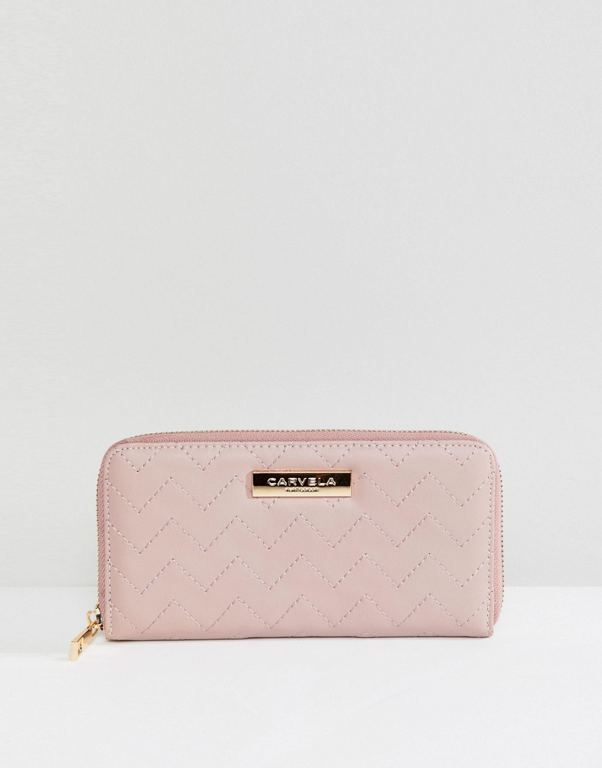 Carvela Zip Purse - Pink
