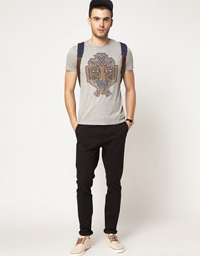 Image 4 ofASOS T-Shirt With Mask Print