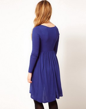 Image 2 ofASOS CURVE Dress With High Low Hem