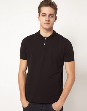 Image 1 ofASOS Polo In Pique Jersey