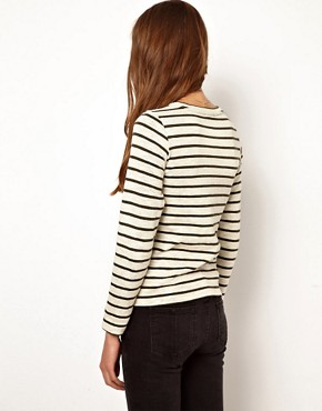 Image 2 ofWhistles Edie Stripe Top