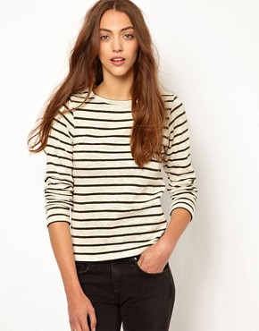 Image 1 ofWhistles Edie Stripe Top