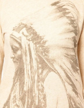 Image 3 ofDenim &amp; Supply By Ralph Lauren Sweatshirt With Indian Head Print