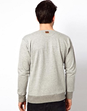 Image 2 ofLee 101 Sweatshirt Henley Grandad