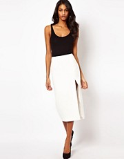 ASOS Pencil Skirt with Split Leg
