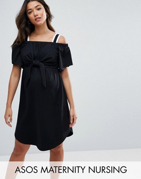 Платье для кормящих мам ASOS Maternity - Черный