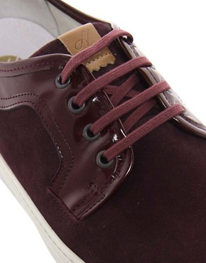 Image 2 ofH by Hudson Tanum Suede Trainers