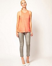 Sass And Bide Lovestate Metallic Feather Print Jeans