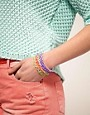 Image 2 ofASOS Pack of Zig Zag Gummy Bracelets