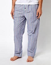 Calvin Klein Stripe Woven Lounge Pants