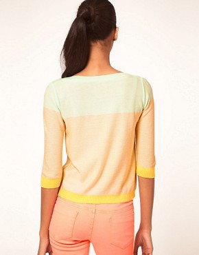 Image 2 ofVero Moda Bow and Stripe Summer Knit