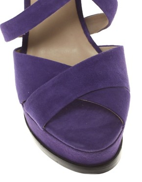 Image 3 ofPour La Victoire Aria Suede Slingback Heeled Shoes
