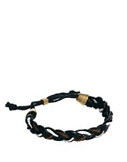 ASOS Plait Leather Bracelet