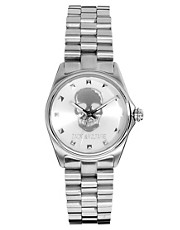 Zadig &amp; Voltaire Silver Skull Bracelet Watch