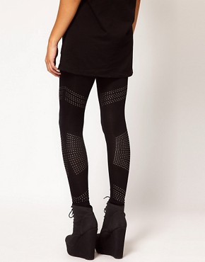 Image 2 ofRiver Island Studded Legging