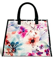 Bolso shopper con diseo de jardn cubano de Blue Q