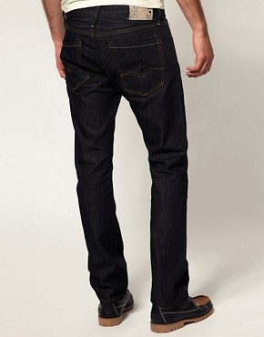 Image 2 ofReplay Jeans Waitom Straight Rinse Wash