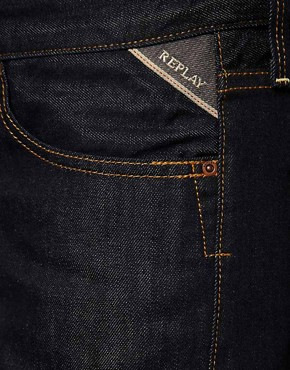 Image 3 ofReplay Jeans Waitom Straight Rinse Wash