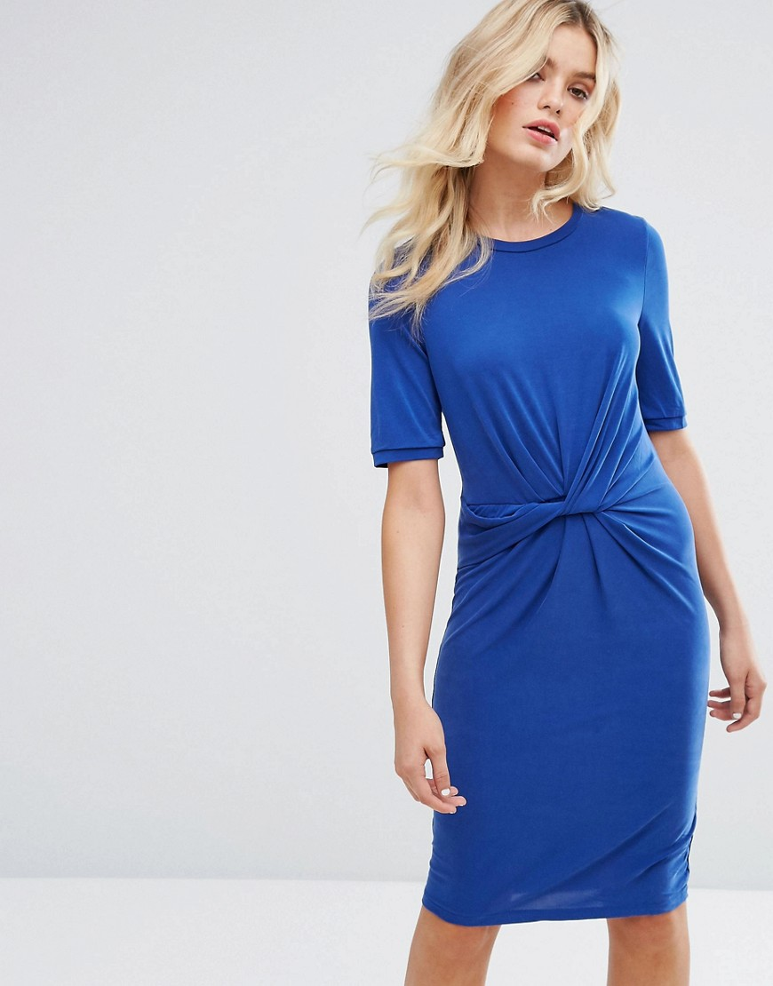 Selected Jersey Knot Dress