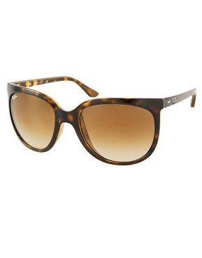 Image 1 ofRay-Ban Light Havana Cats 1000 Sunglasses