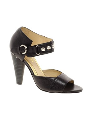 Image 1 ofBe&amp;D Leather Essex Heeled Sandal