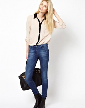 Image 4 ofSplendid Contrast Trim Shirt
