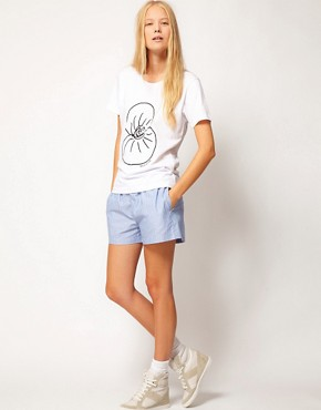 Image 1 ofASOS White Boxer Short