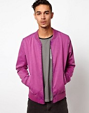 ASOS - Bomber a lavaggio acido
