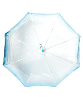 Image 2 ofElla Doran Birdcage-2 Aqua Umbrella