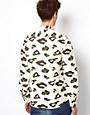 Image 2 ofASOS Shirt With Leopard Camo Print