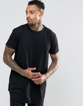 Sixth June T-Shirt With Curved Hem