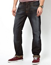 Nudie Jeans Average Joe Regular Fit Steve Replica Wash