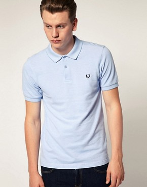 Image 1 ofFred Perry Slim Fit Oxford Pique Polo
