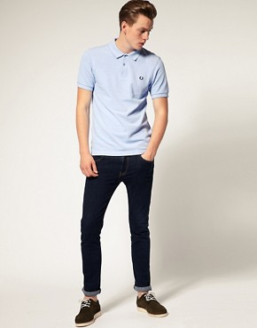 Image 4 ofFred Perry Slim Fit Oxford Pique Polo