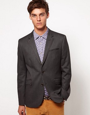 Image 1 ofTed Baker Herringbone Blazer