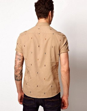 Image 2 of ASOS Shirt With Embroidery