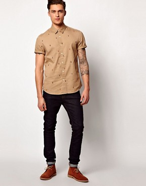 Image 4 of ASOS Shirt With Embroidery