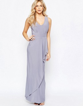 Love Drape Front Maxi Dress