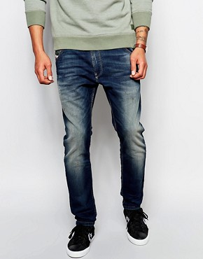 Diesel Jogg Jeans Krooley 0609U Slim Tapered Dark Wash