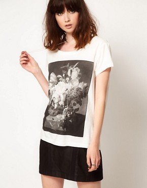 Image 1 ofEleven Paris Flowers T-Shirt