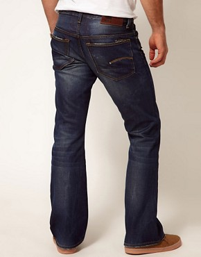 Image 2 ofG Star Jeans 3301 Bootcut Fit Dark Aged